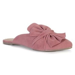 Mauve mules by Bamboo
